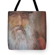 Old Salt Christo At 80 Tote Bag by Susan Richardson