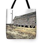 Old Salted Building Tote Bag