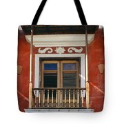 Old San Juan Balcony Tote Bag