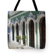 Old San Juan Street Tote Bag