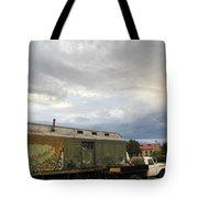 Old Santa Fe Railyard Tote Bag