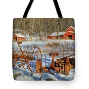 Old School Tote Bag by Bill Wakeley