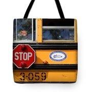 Old School Bus 1 Tote Bag