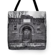 Old School Bw Tote Bag
