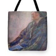 Old School - Contemporary Portrait Tote Bag