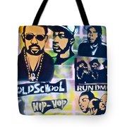 Old School Hip Hop 2 Tote Bag