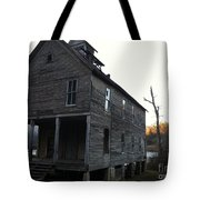 Old School House Tote Bag