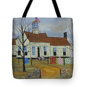 Old School Quilt Show Tote Bag