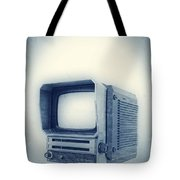 Old School Television Tote Bag by Edward Fielding