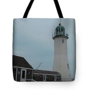 Old Scituate Light Tote Bag