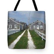 Old 'sconset Nantucket Houses Tote Bag