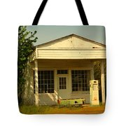 Old Service Station Tote Bag