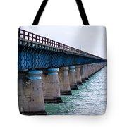Old Seven Mile Bridge Tote Bag