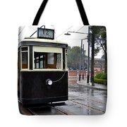 Old Shanghai Trolley Tram Car Rests In Tracks Tote Bag