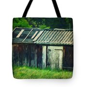 Old Shed Tote Bag