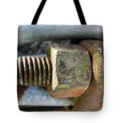 Old Silo Stave Bolt Tote Bag