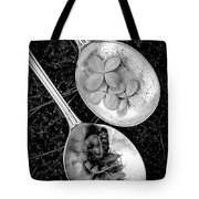 Old Silver Spoons Tote Bag