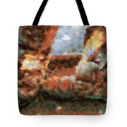 Old Snow Boots Tote Bag