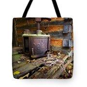 Old Sorghum Press Tote Bag by Debra and Dave Vanderlaan