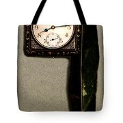 Old Square Clock Tote Bag
