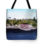 Old Stage And Storeloft Tote Bag