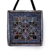 Old Stain Glass Window Tote Bag