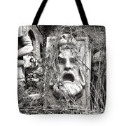 Old Statues In Skopje Tote Bag
