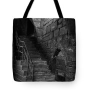 Old Steps In Chester England Tote Bag
