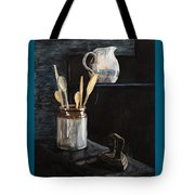 Old Still Life Tote Bag