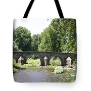 Old Stone Arch Bridge Tote Bag
