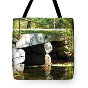 Old Stone Bridge Tote Bag by Barbara McDevitt