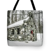 Old Stone Chapel Stowe Vermont Tote Bag