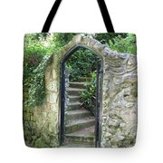 Old Stone Gate Tote Bag