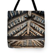 Old Stone Roof Tote Bag