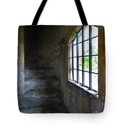 Old Stone Staircase Tote Bag