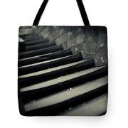 Old Stone Stairway Tote Bag