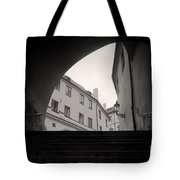 Old Streets In Prague Tote Bag