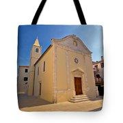 Old Streets Of Novalja Town Tote Bag