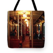 Old Subway In Buenos Aires Tote Bag