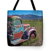 Old Taos Pickup Truck Tote Bag