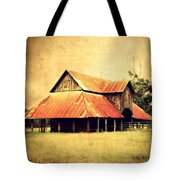 Old Texas Barn Tote Bag by Julie Hamilton