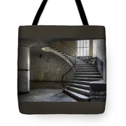 Old Theater Stairs Tote Bag