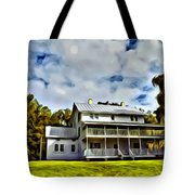 Old Thursby Plantation House Two Tote Bag