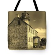 Old Time East Point Light Tote Bag