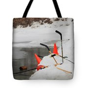 Old Time Hockey 1 Tote Bag