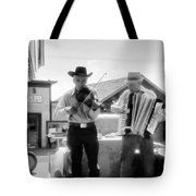 Old Time Musicians Bw Tote Bag