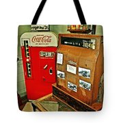 Old Time Station Tote Bag by Marty Koch