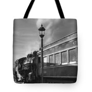 Old Time Steam Tote Bag