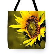 Old Time Sunflower Tote Bag