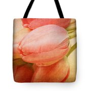 Old Time Tulips Tote Bag